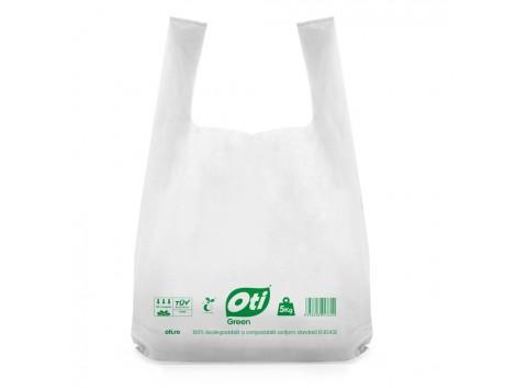Sacose biodegradabile cf standard EN13432, simple, 40x50cm, 5kg, 50 buc./set