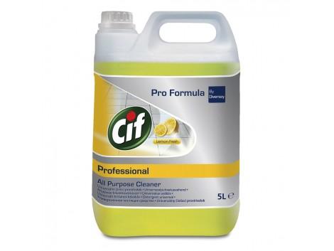 Detergent universal Cif Professional, Lemon Fresh, 5L