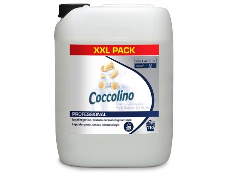 Balsam de rufe Coccolino Professional, Pure, 10L