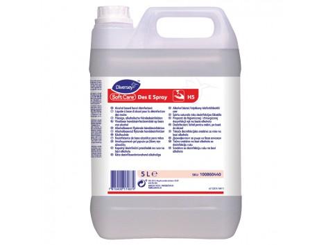 Dezinfectant lichid pentru maini, profesional, Soft Care Des E Spray, 5L