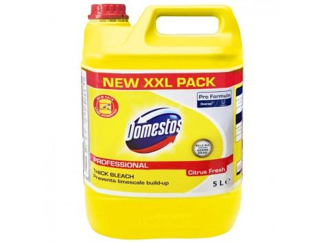 Detergent dezinfectant zilnic Domestos Professional, Citrus Fresh, 5L