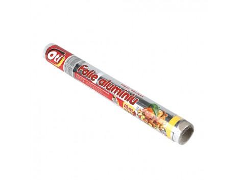 Folie aluminiu OTI, 10m, tipla, pentru uz casnic