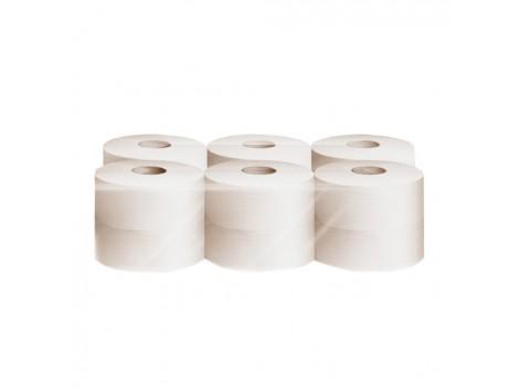 Hartie igienica jumbo, deink, 2 straturi, 12 role/bax