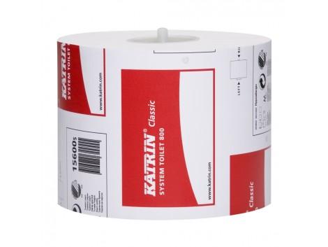 Hartie igienica Katrin System, 2 straturi, 800 foi