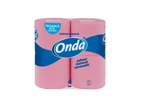 Hartie igienica Onda, 2 straturi, 4 role