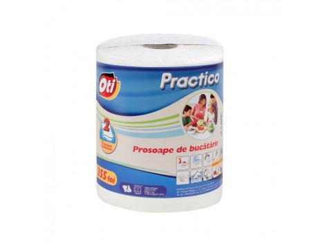 Prosop de bucatarie Oti Practico, 2 straturi, 355 foi, monorola