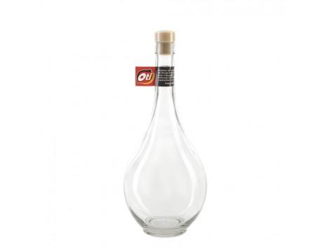 """Sticla traditionala OTI cu dop, 1L, """"BATERIA DE VIN"""""""
