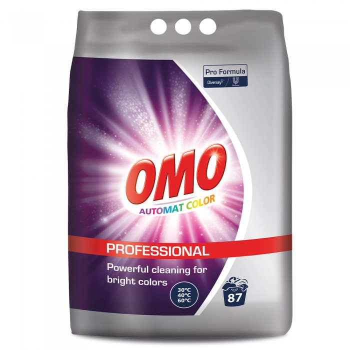 Detergent automat Omo Professional pentru rufe colorate, 7Kg