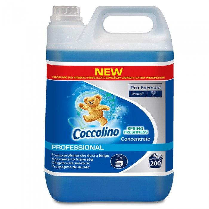 Balsam concentrat de rufe Coccolino Professional, Spring Fresh, 5L