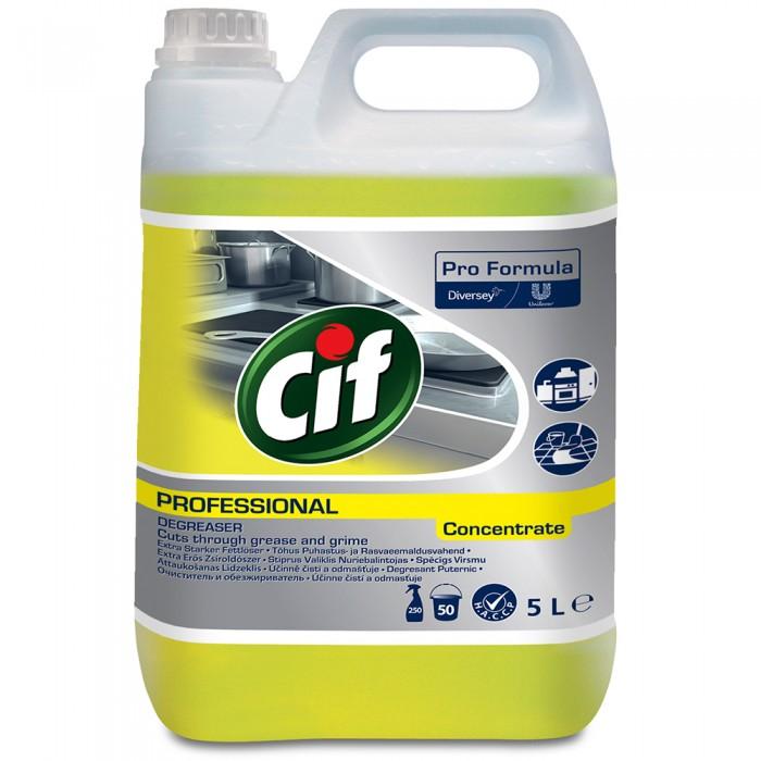 Degresant puternic Cif Professional, 5L