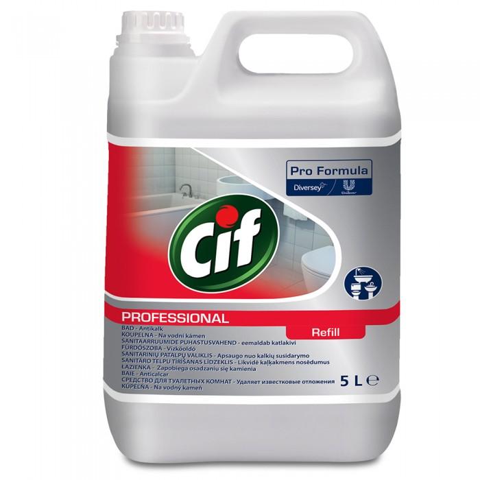 Detergent pentru baie 2in1 Cif Professional, 5L