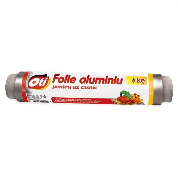 Folie aluminiu 1kg, pentru uz casnic