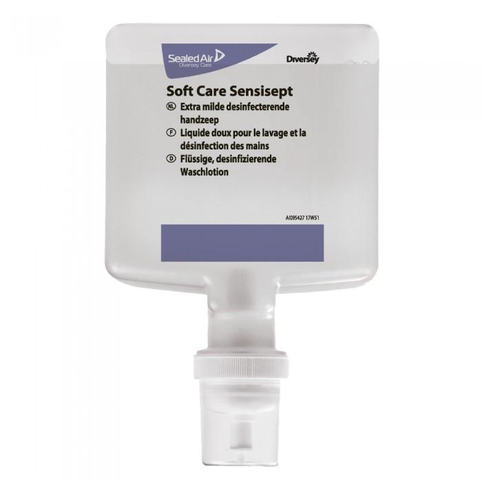 Sapun dezinfectant pentru maini, profesional, Soft Care Sensisept, 1.3L