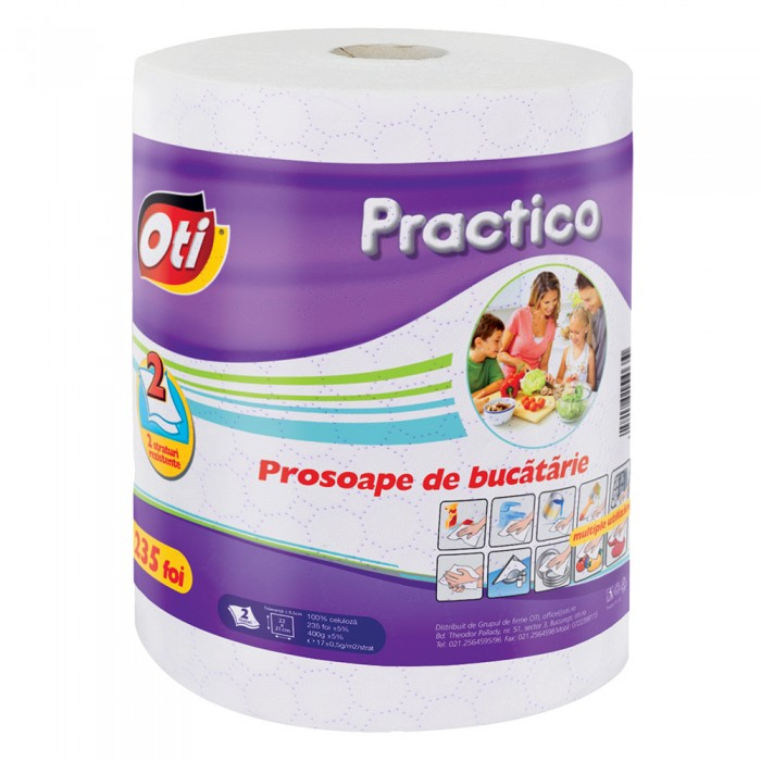 Prosop Oti Practico, 2 straturi, 235 foi, insertii mov, monorola