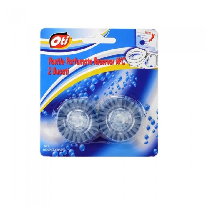 Pastile parfumate rezervor WC, 2 buc./set, 50 gr