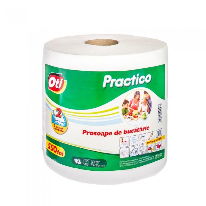 Prosop de bucatarie Oti Practico, 2 straturi, 550 foi, monorola