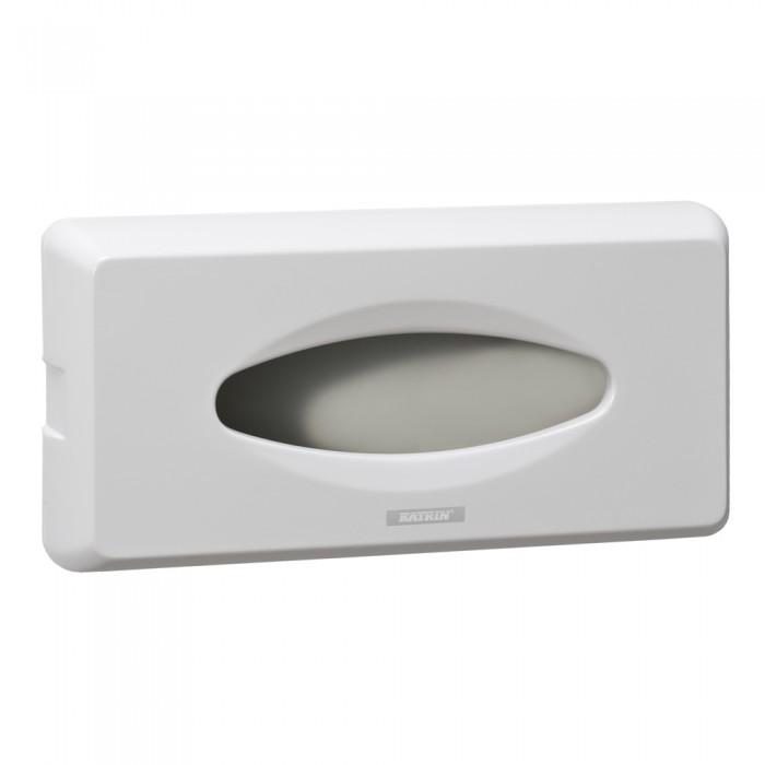 Dispenser Katrin ABS, alb, pentru servetele faciale