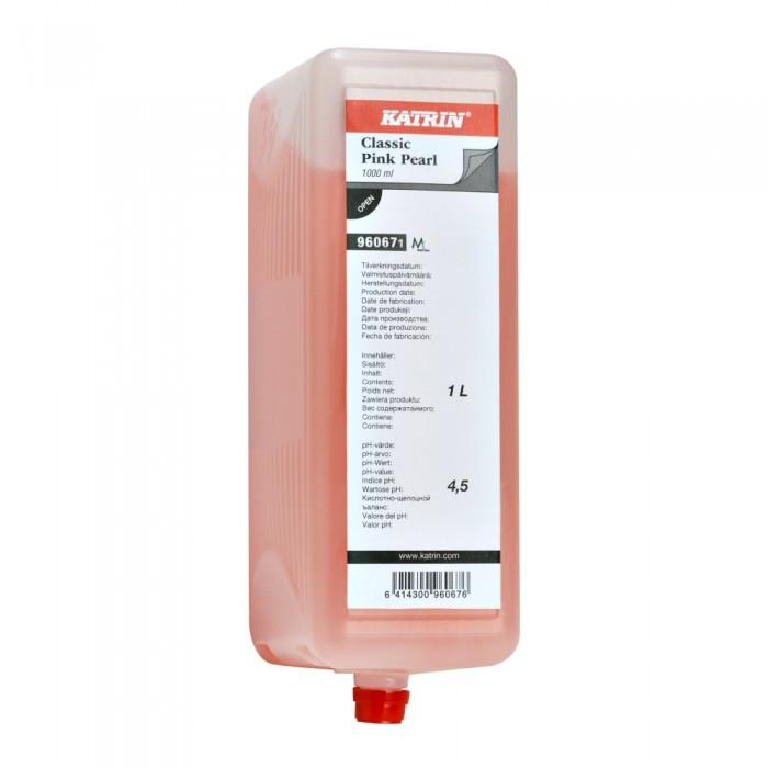 Sapun lichid Katrin Pink Pearl Professional, 1000 ml