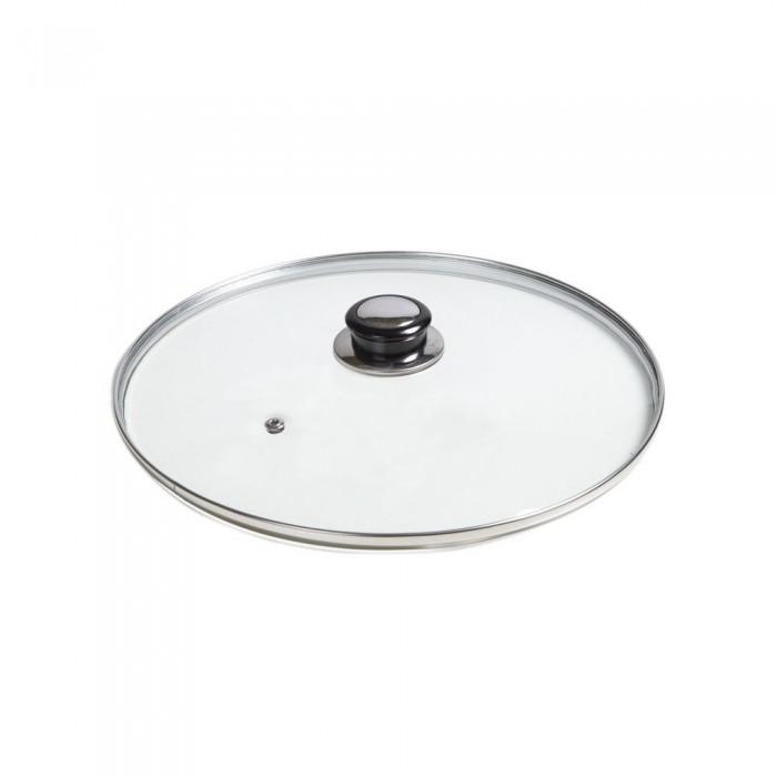 Capac din sticla termorezistenta, Ø 30 cm, pentru oale si tigai