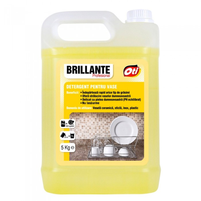Detergent Brillante pentru vase, 5kg