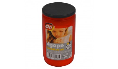 Candela cu ulei Agape, Timp de ardere ~2,5 zile