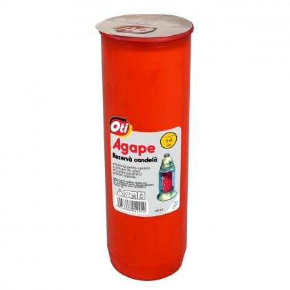 Rezerva Candela cu ulei Agape, Timp de ardere ~4 zile