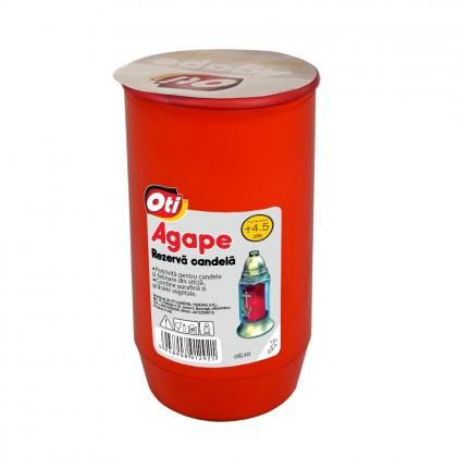 Rezerva Candela cu ulei Agape, Timp de ardere ~4,5 zile