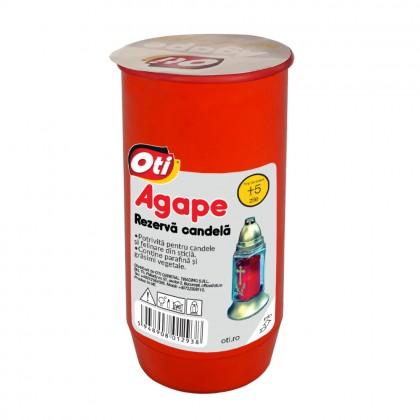 Rezerva Candela cu ulei Agape, Timp de ardere ~5 zile