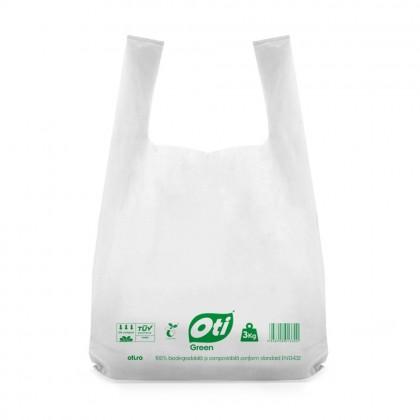 Pungi biodegradabile cf standard EN13432, 36x40cm, 3kg, 50 buc./set