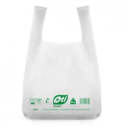 Pungi biodegradabile cf standard EN13432, 40x50cm, 5kg, 50 buc./set