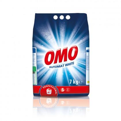 Detergent automat Omo Professional pentru rufe albe, 7Kg