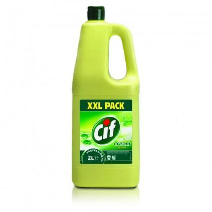 Crema de curatat non-abraziva Cif Professional, Lemon, 2L