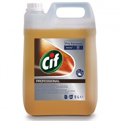Detergent pentru suprafete din lemn Cif Professional, 5L