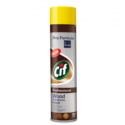 Spray pentru curatarea lemnului Cif Professional, 0.4L