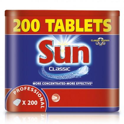 Tablete pentru masinile de spalat vase Sun Professional, 200 buc./set