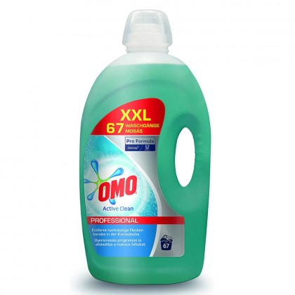 Detergent lichid Omo Professional, Active Clean, 5L