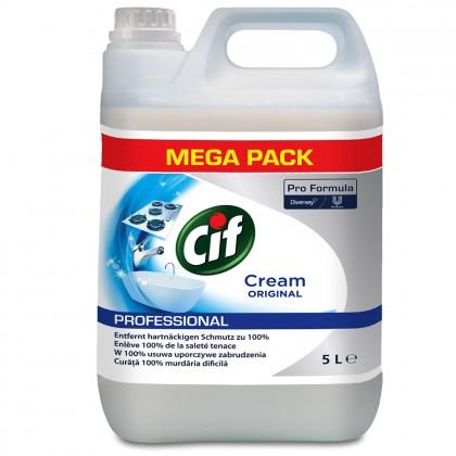 Crema de curatat non-abraziva CifProfessional, 5L