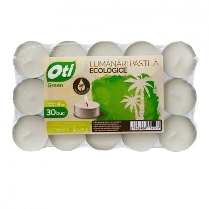 Lumanari pastila ecologice, 30 buc./set