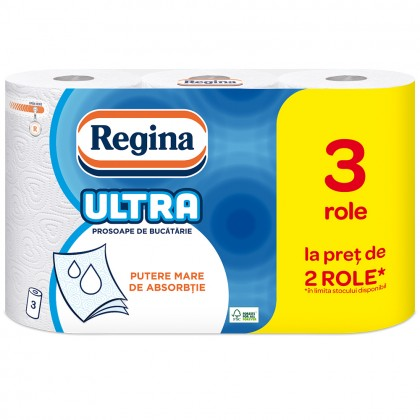 Prosoape Regina Ultra, 3 straturi, 3 role