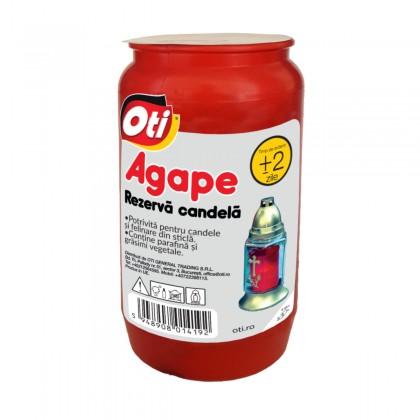 Rezerva Candela cu ulei Agape, Timp de ardere ~2 zile