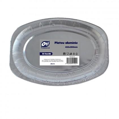 Platou din aluminiu 425 x 285 mm, 25 buc./set