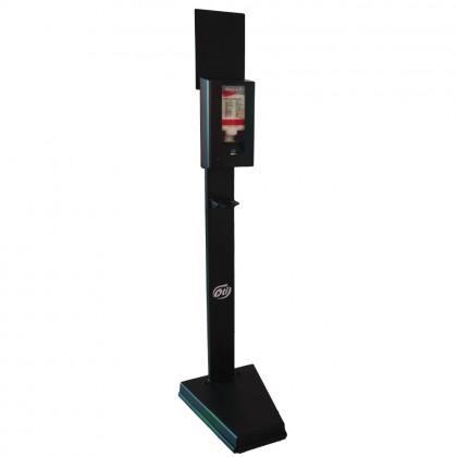 Suport metalic mobil pentru dispenser dezinfectant maini