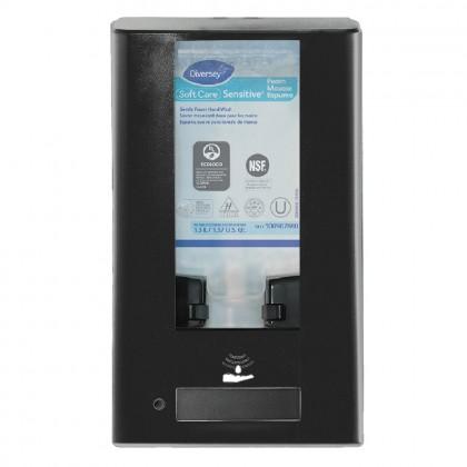 Dispenser cu senzor pentru gel dezinfectant, IntelliCare Hybrid, negru, 1.3L