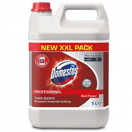 Detergent dezinfectant zilnic Domestos Professional, Red Power, 5L