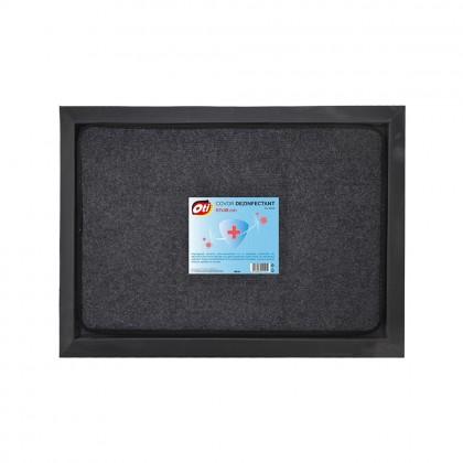 Covoras dezinfectant ultra-absorbant cu tava, 67x48 cm, marimea L