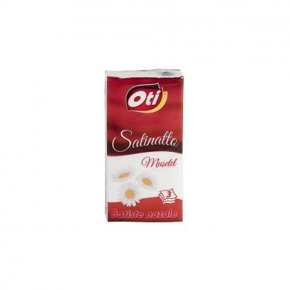 Batiste nazale Oti Satinatto, 3 straturi, 10 pach./set, parfumate