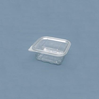 Caserole dreptunghiulare cu capac 500 ml, 60x130x125 mm, 100 buc./set