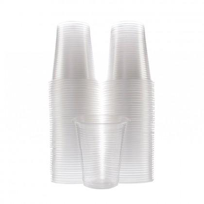 Pahare transparente, 180 ml, 100 buc./set