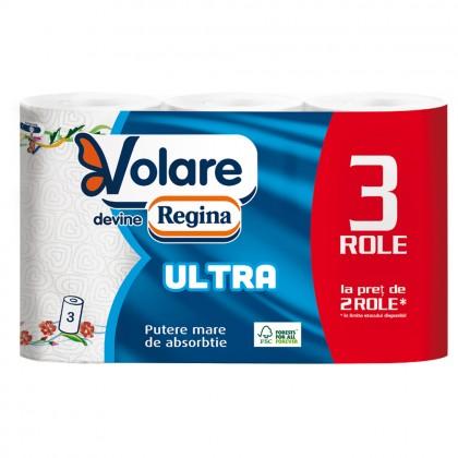 Prosoape Regina Ultra New, 3 straturi, 3 role