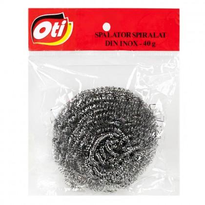 Spalator spiralat inox profesional OTI, 40 gr.